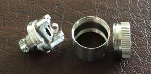 Mini RBA Base disassembled